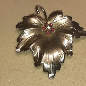 TWO VINTAGE STERLING SILVER PINS/BROOCHES-SIGNED